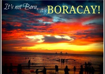 BORACAY please, not Bora! – April 2012